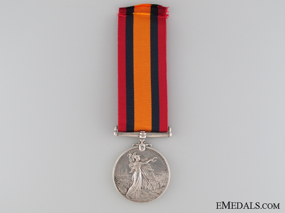 A Queen's Mediterranean Medal to the Seaforth Highlanders