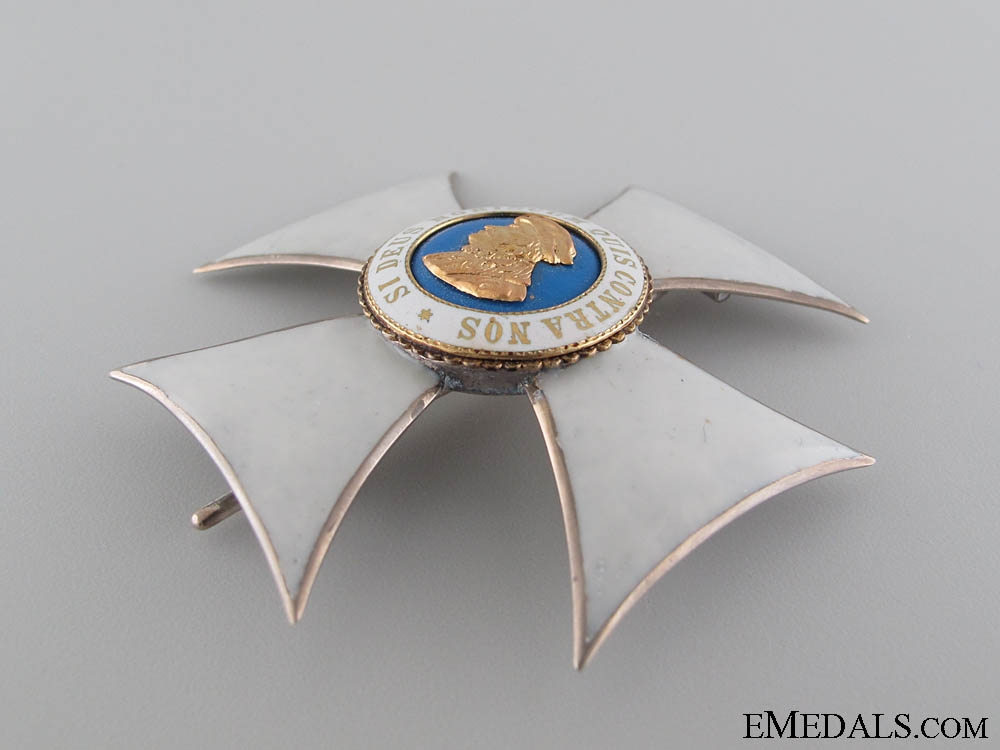 Order of Philip the Brave 1900-1918 – Honour Cross