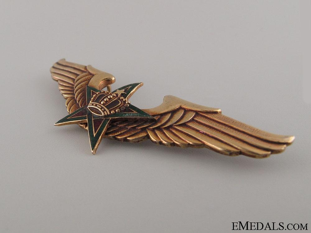 Royal Moroccan Air Force Pilot's Wings