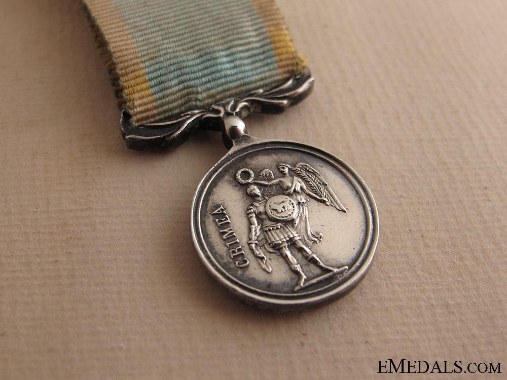 A Miniature Crimea Medal