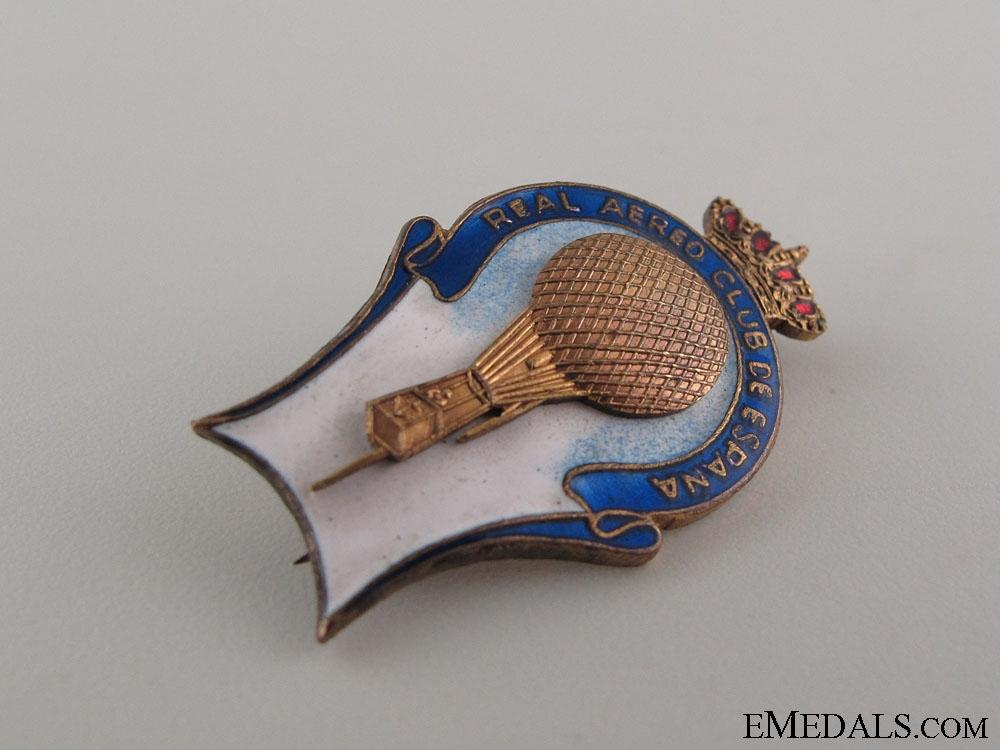 Spanish Royal Aero Club Pin