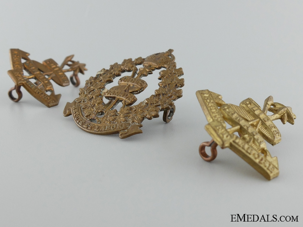 WWI Canadian Corps of Guides Insignia Set