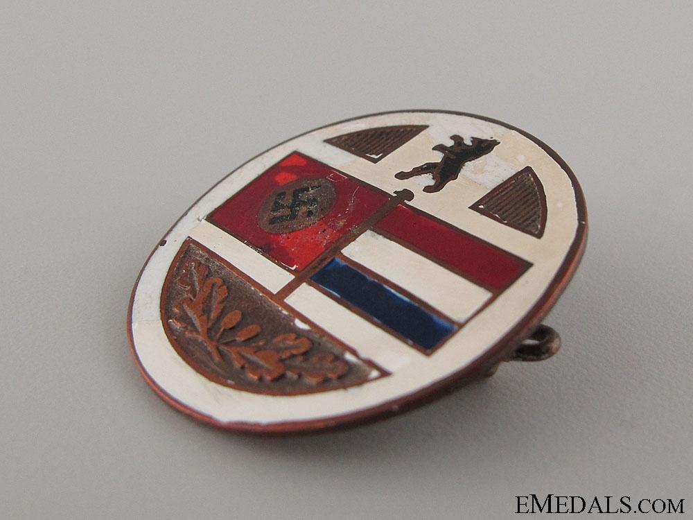 Deutschland vs Niederlande Alliance Badge