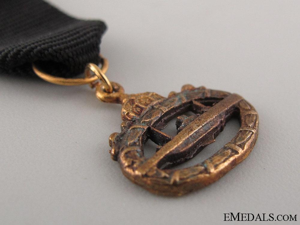 WWI Miniature Submarine Badge