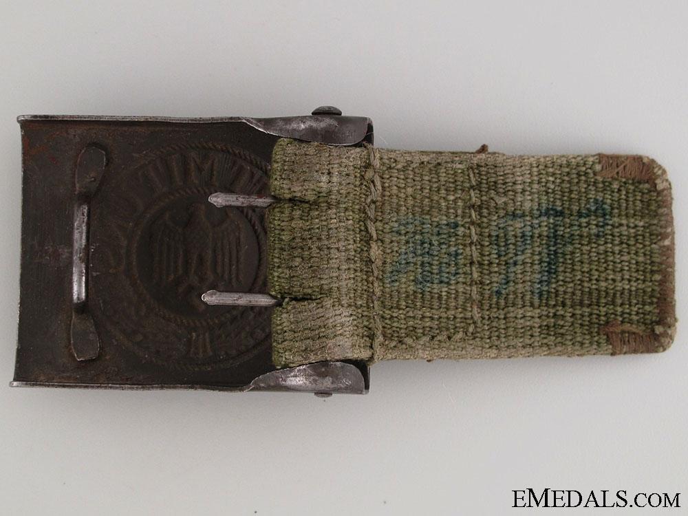 Army (Heer) Belt Buckle