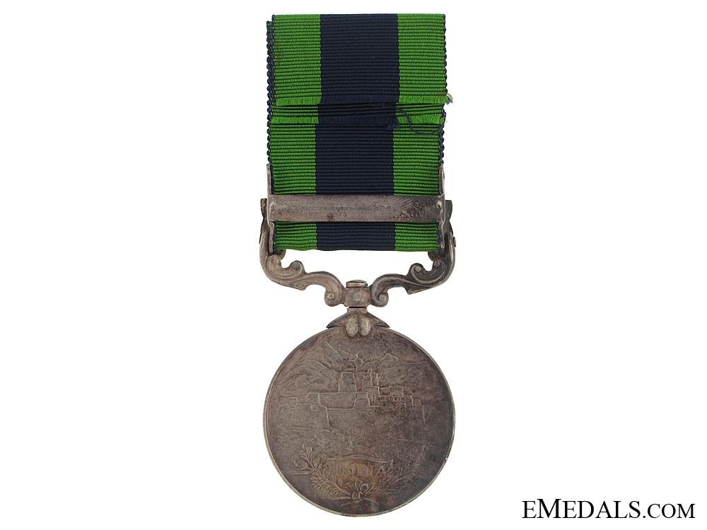 India General Service Medal - 45th Sikh Regiment