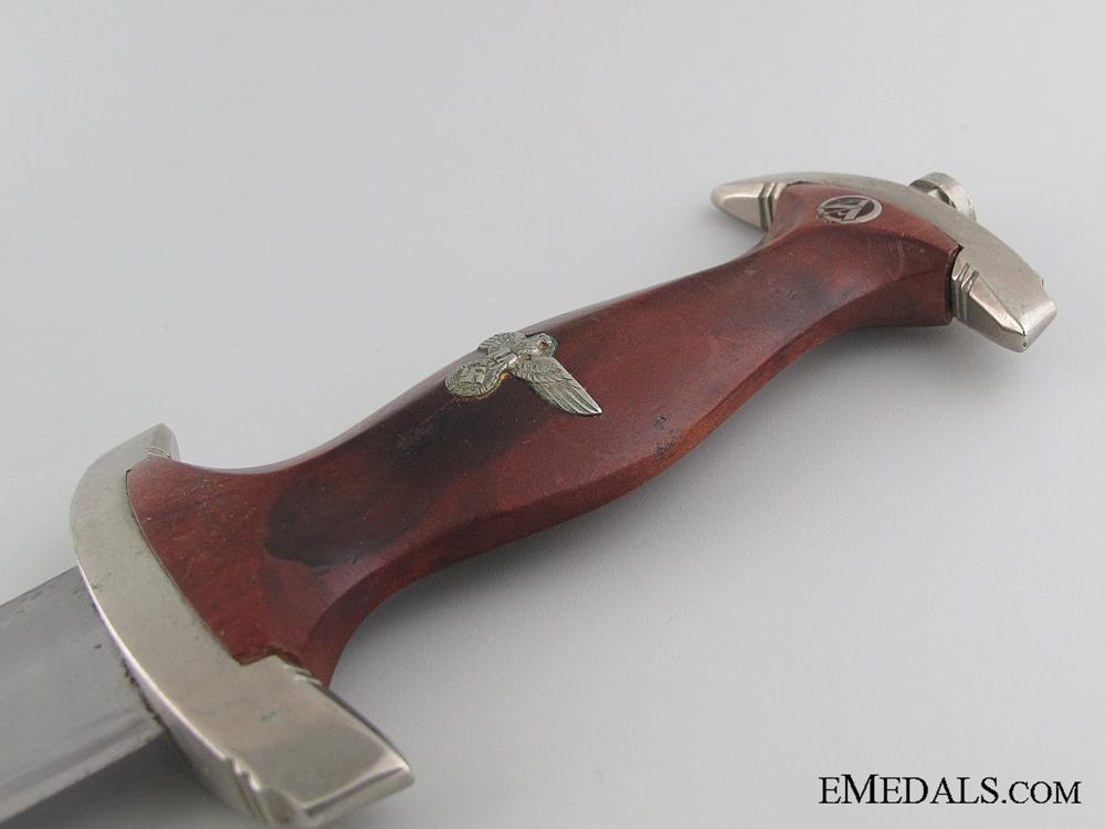 An Early SA Dagger by Richard Balke & S¡_hne