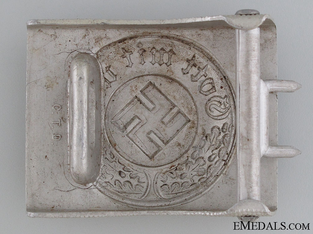 An Enlisted Police Belt Buckle