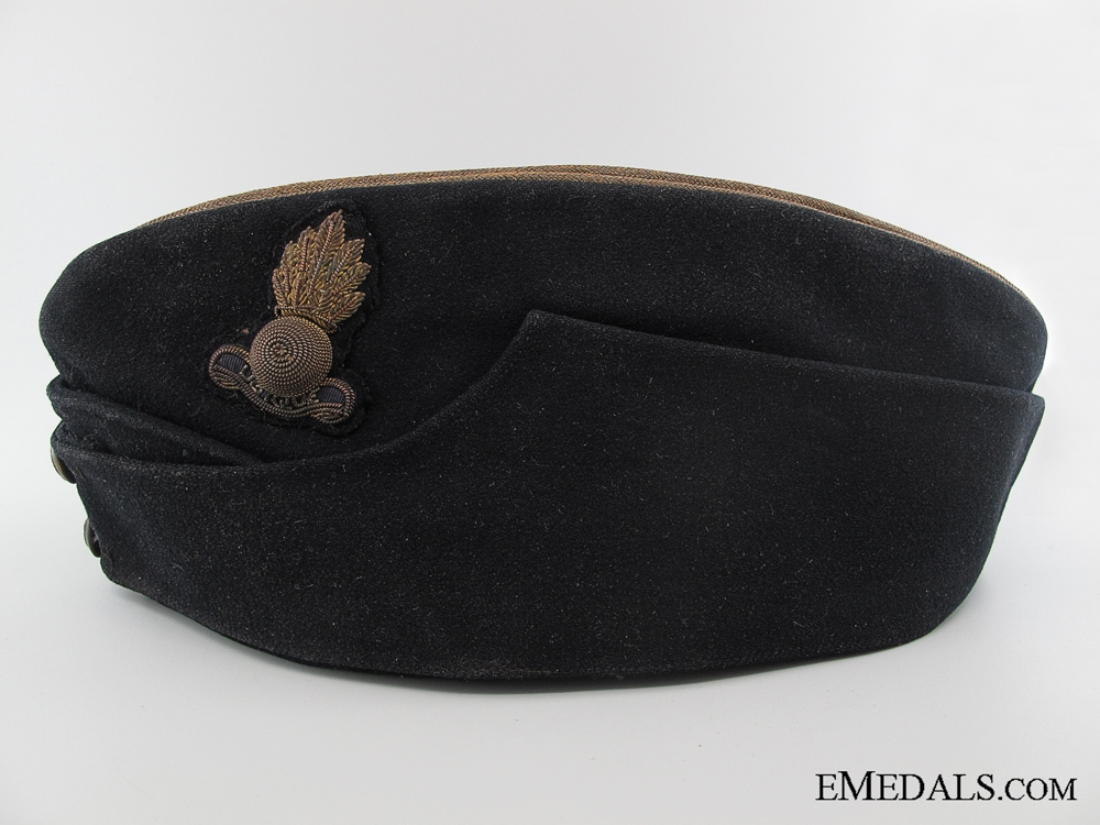 WWII Royal Engineers Officer's Side Cap