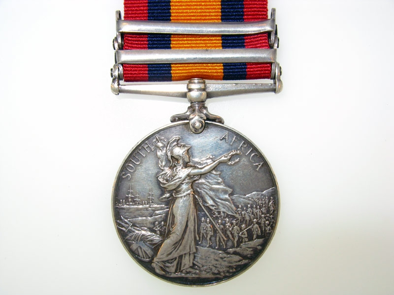 Queen's South Africa Medal,