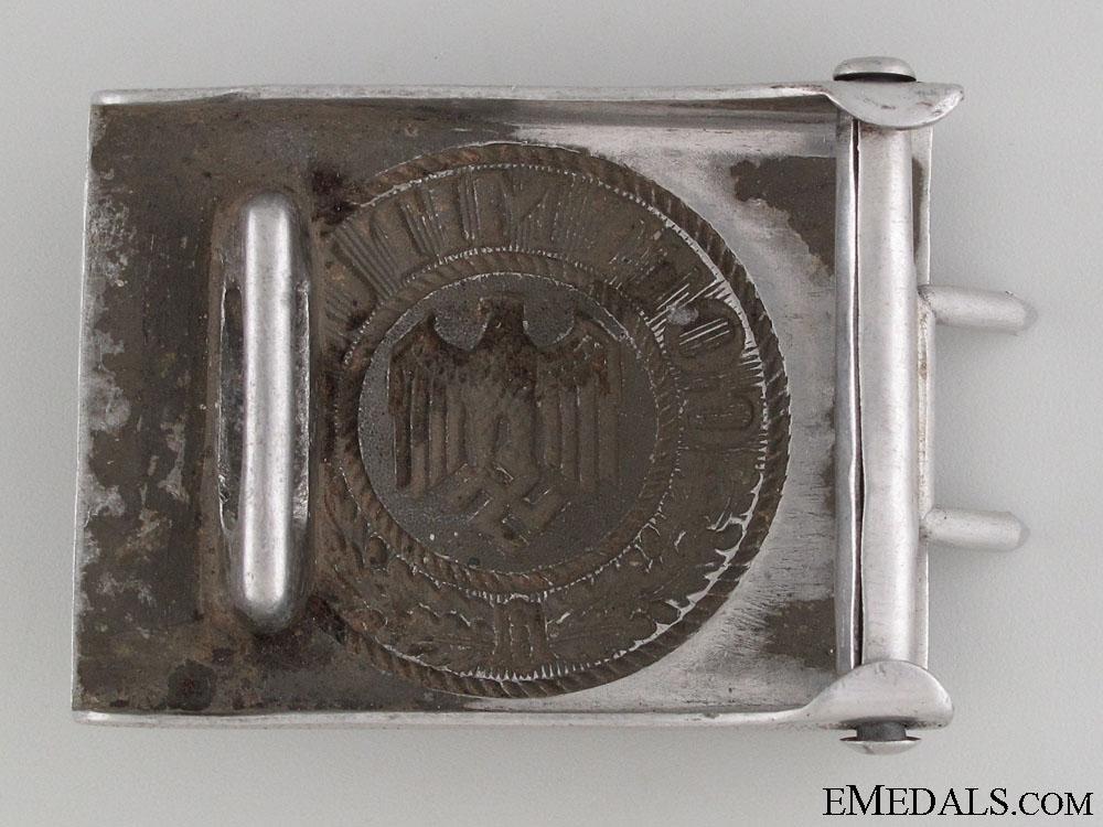 Army (Heer) Belt Buckle by Gustav Brehmer