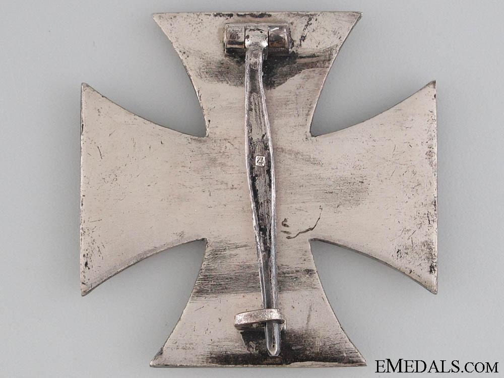 Iron Cross First Class 1939 - Marked