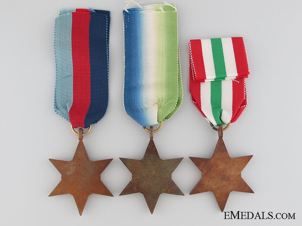 Three WWII British Stars