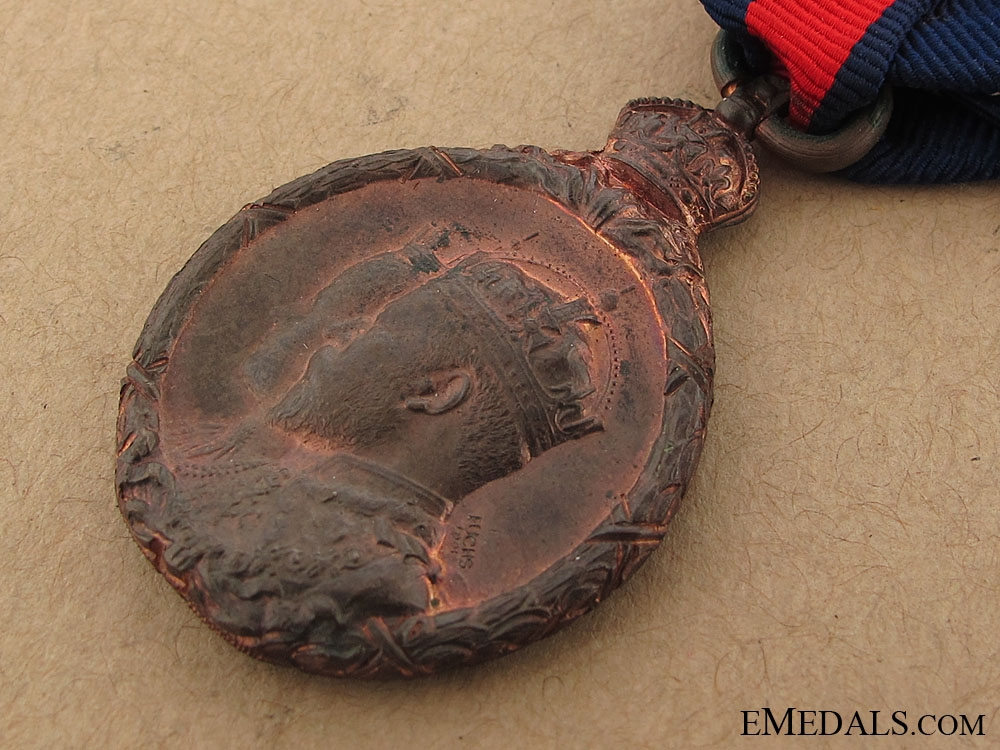King Edward VII and Queen Alexandra Coronation Medal 1902