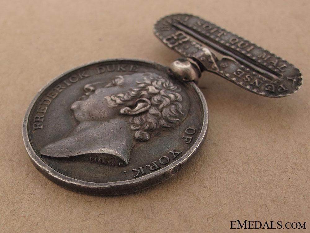 Frederick Duke of York Commemorative Medal