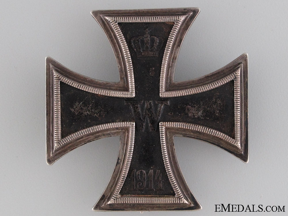 A Cased Iron Cross First Class 1914 by Wagner