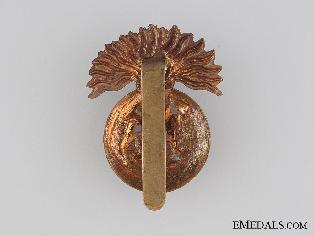 WWI British Royal Munster Fusilier Cap Badge
