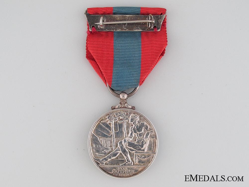 Imperial Service Medal to Samuel Lang Jones