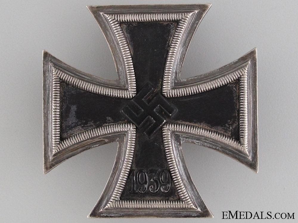 Iron Cross 1st Class 1939 to W.Huber 4h Sicherungs