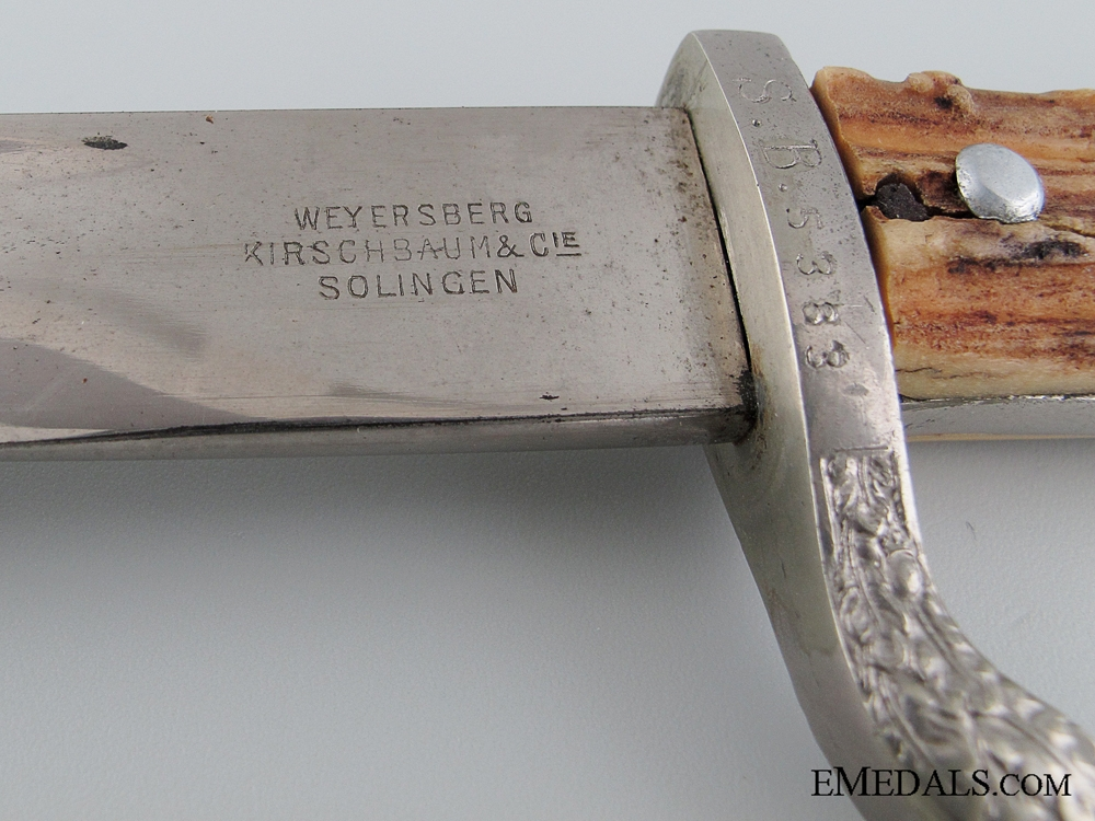 Municipal Police Bayonet by Weyersberg
