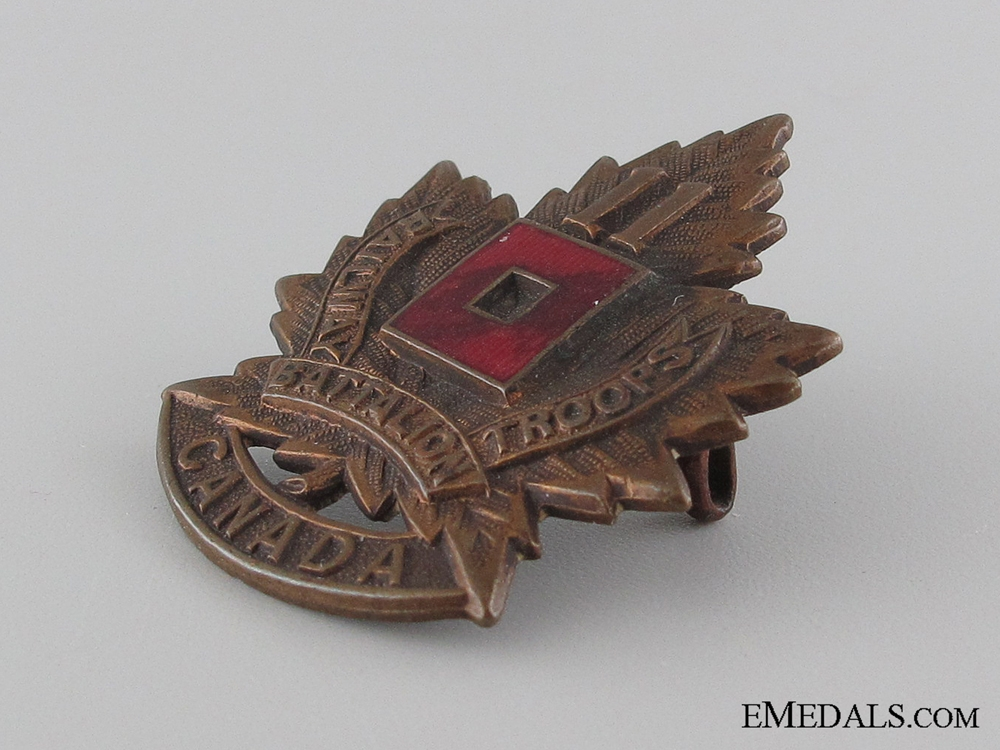 WWI 11th Battalion Railway Troops Cap Badge