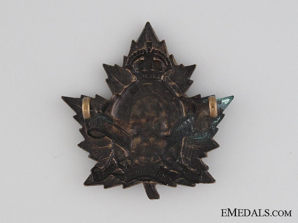 WWI 2nd Quebec Regiment French Legends Badge