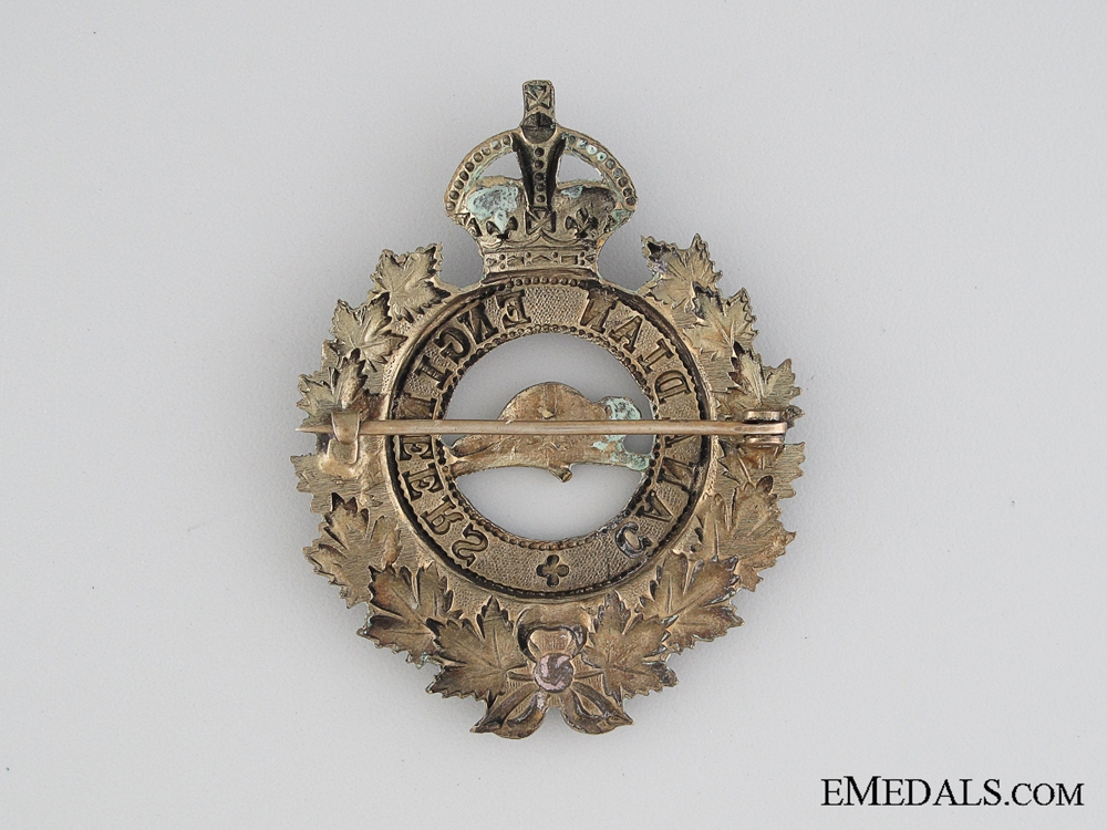 WWI Canadian Engineers Cap Badge CEF