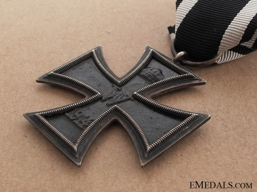 Iron Cross 2nd Class 1914 - Marked 800