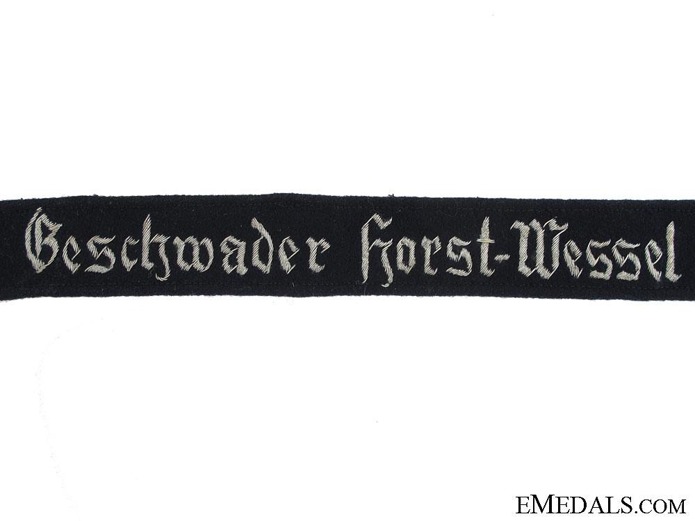 Geschwader Horst Wessel Cufftitle