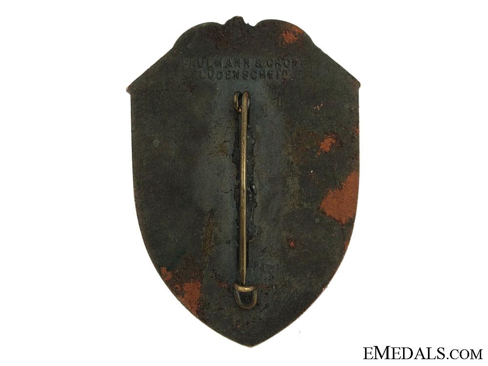 Large N.S.L.B. Tinnie/Day Badge 1933