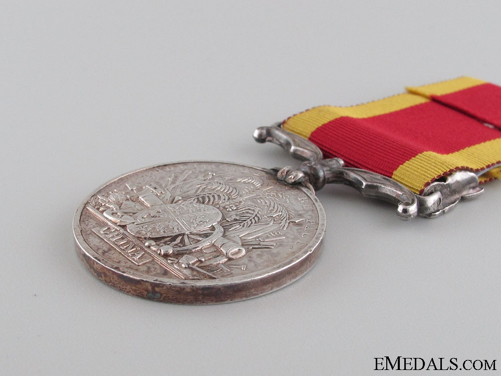 Second China War Medal - Pekin 1860