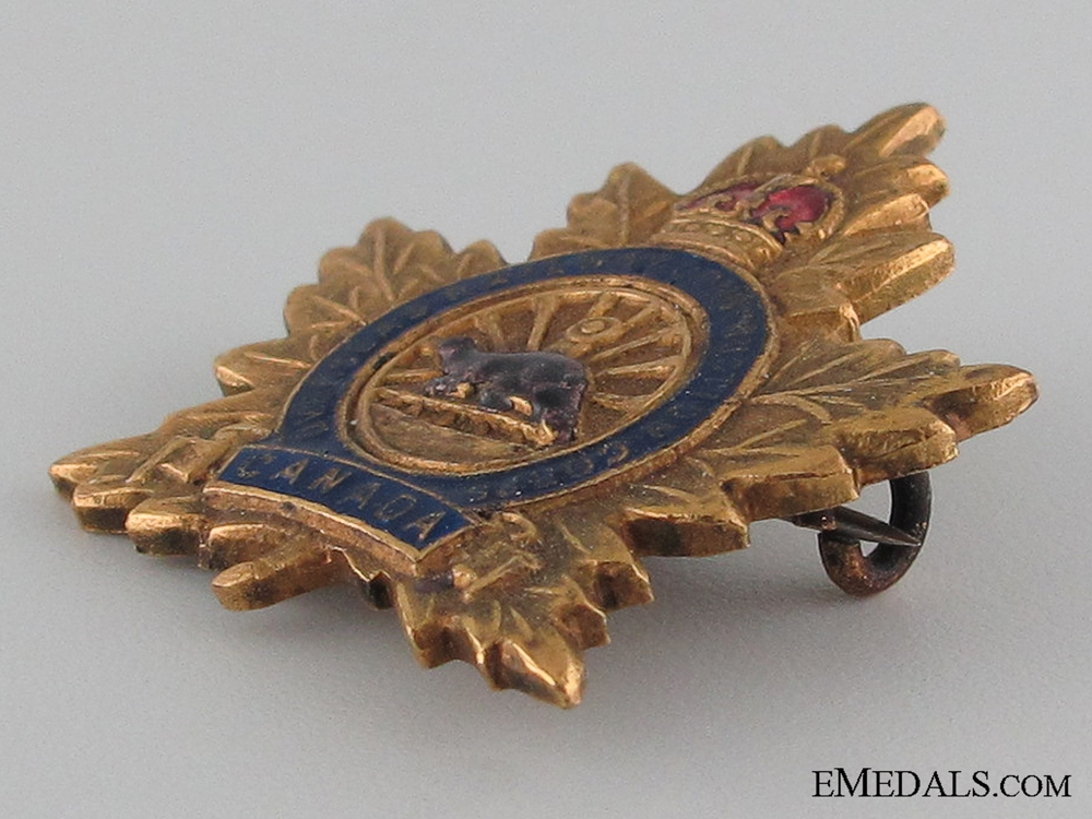 Canadian Overseas Railway Construction Corps Pin