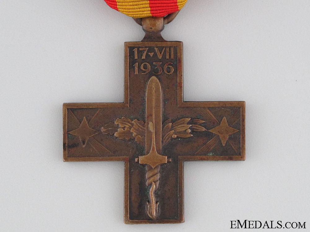 A Cross of the Spanish Campaign 1936-1939