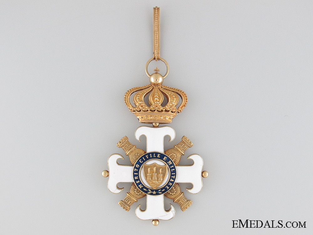 A Knights Order of San Marino Civil and Military