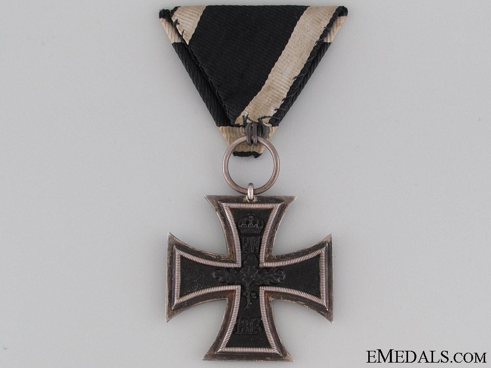 Iron Cross 2nd Class - Austrian Ribbon
