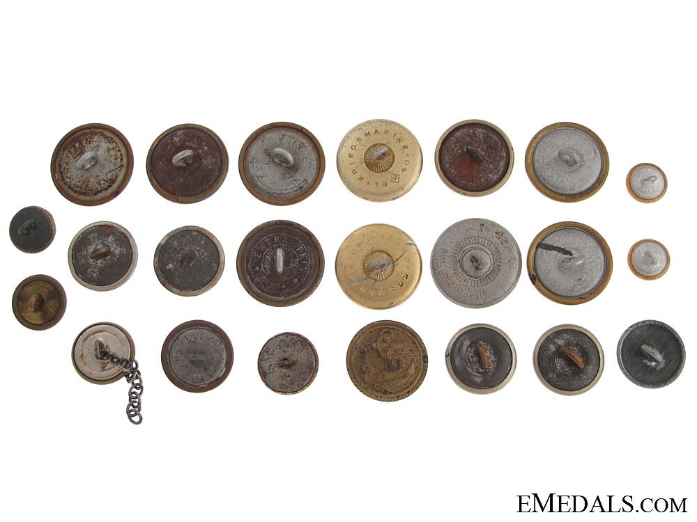Twenty-Three German Buttons
