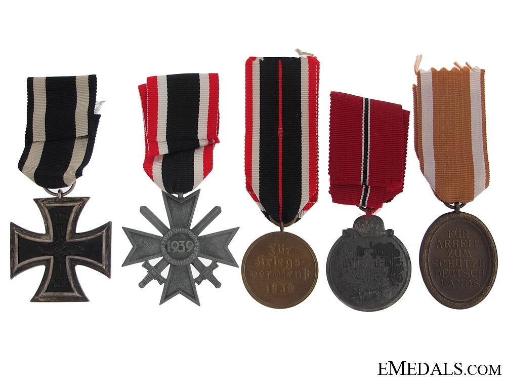 Five German Medals