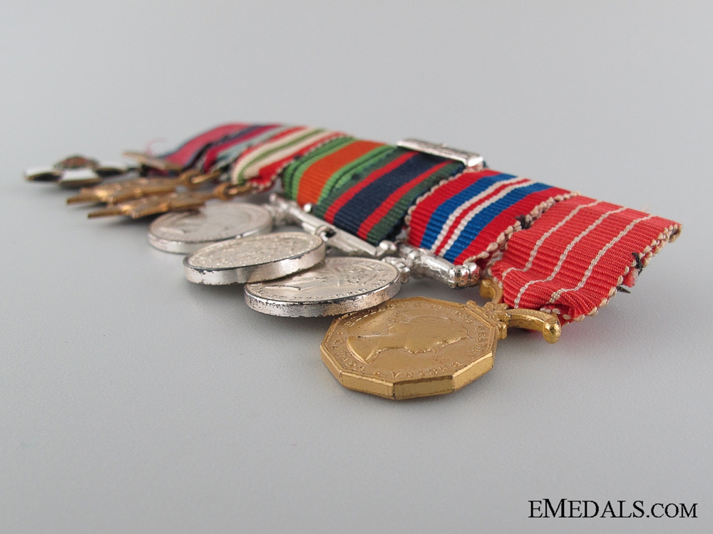 Canadian WWII Group of Seven Miniatures