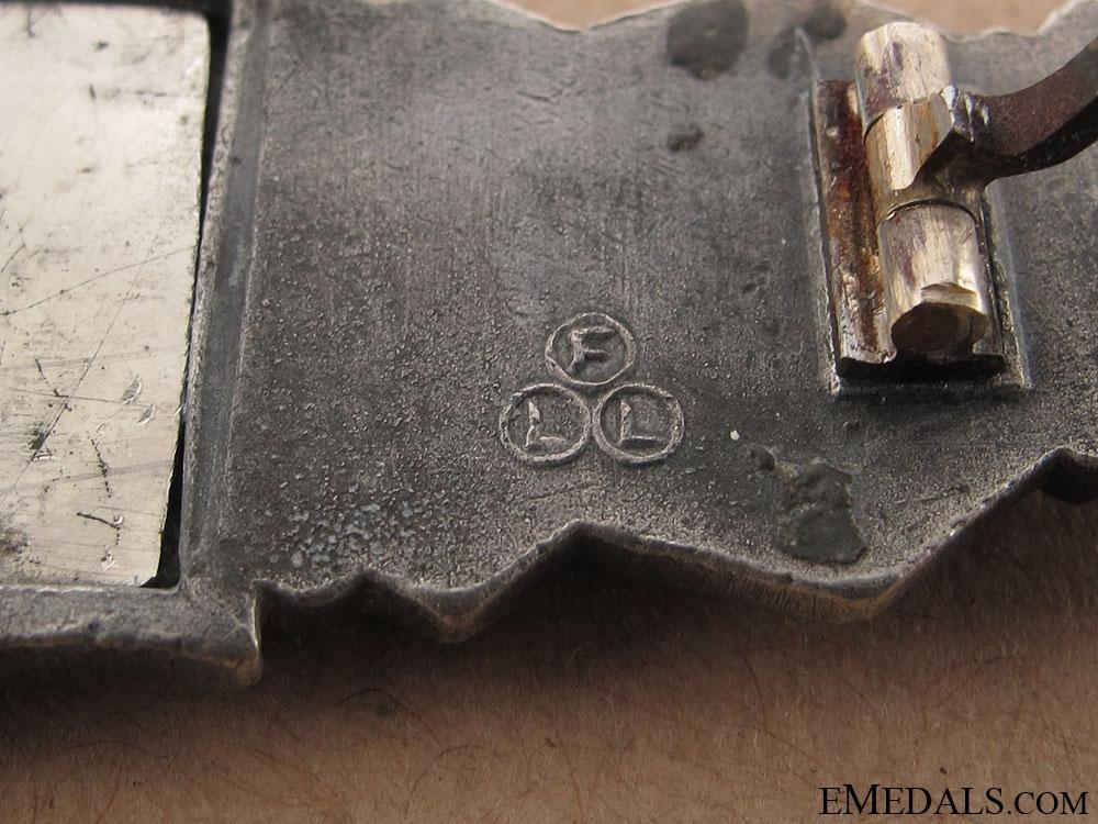Close Combat Clasp-Silver Grade - FLL