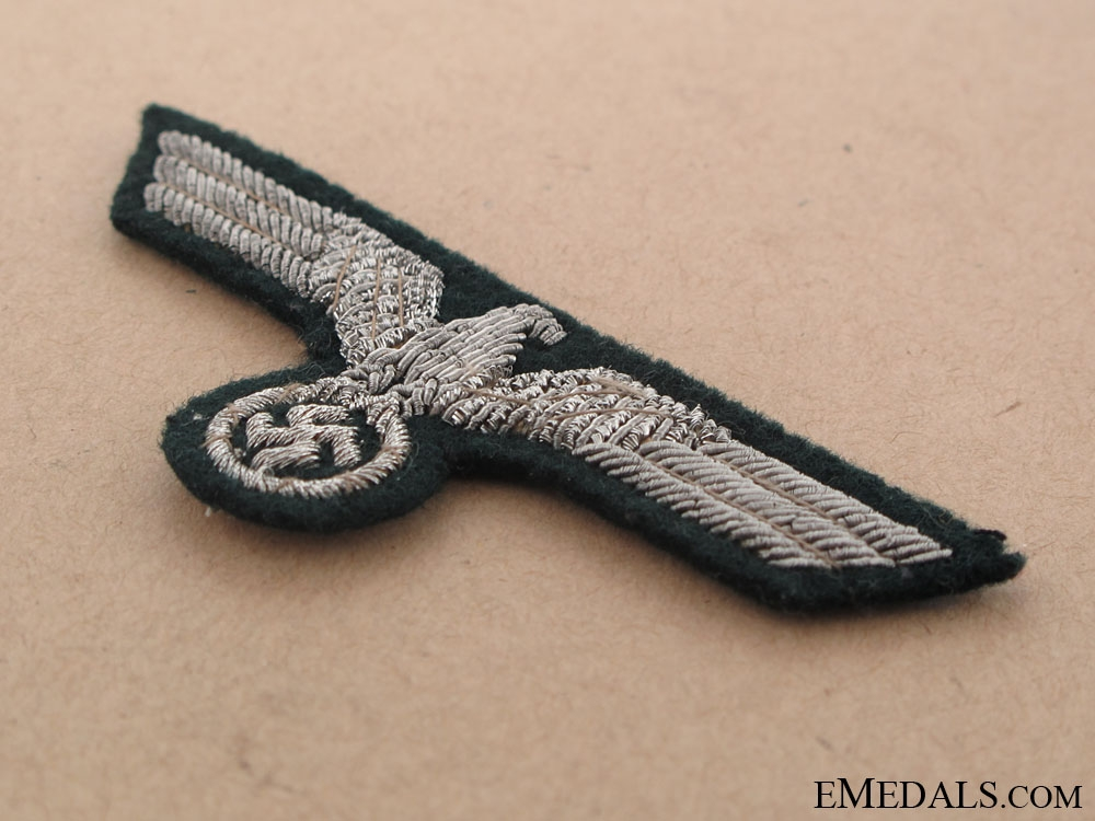 Army officer's Bullion Eagle for Visor Hat