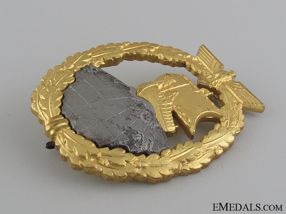 A Mint Auxiliary Cruiser War Badge by SCHWERIN