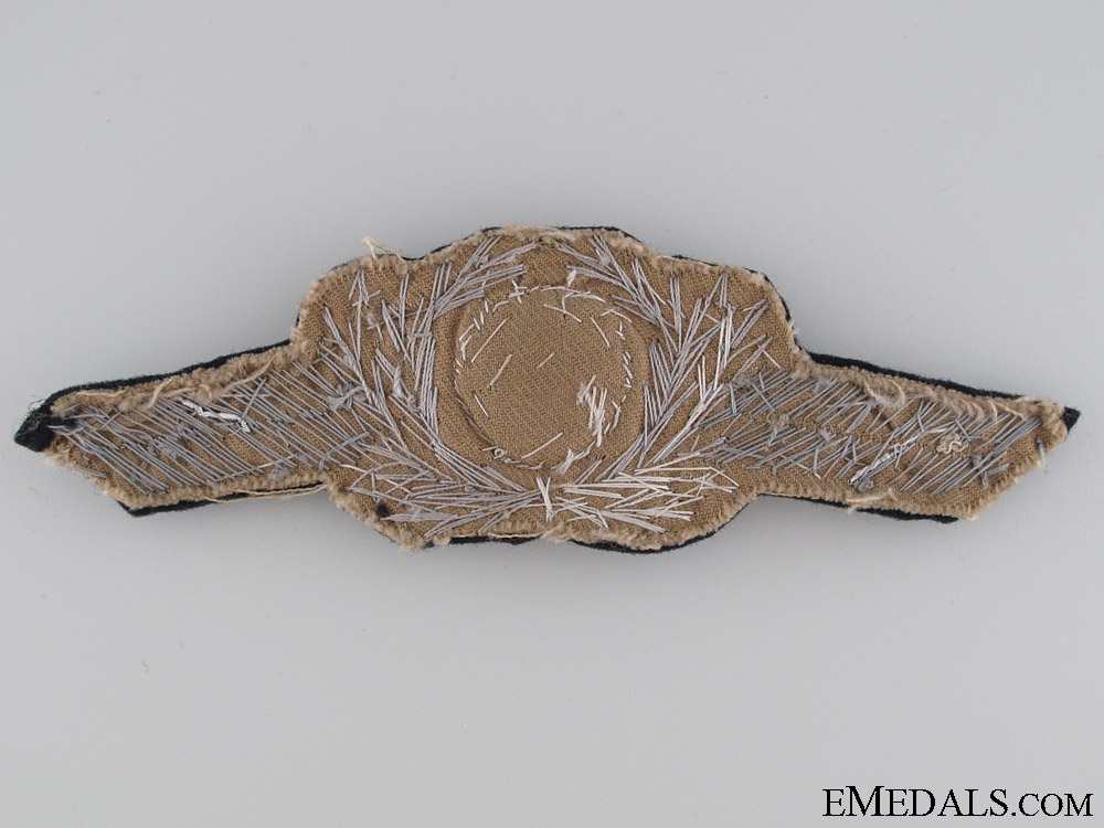 Officers Visor Wreath and Cockade