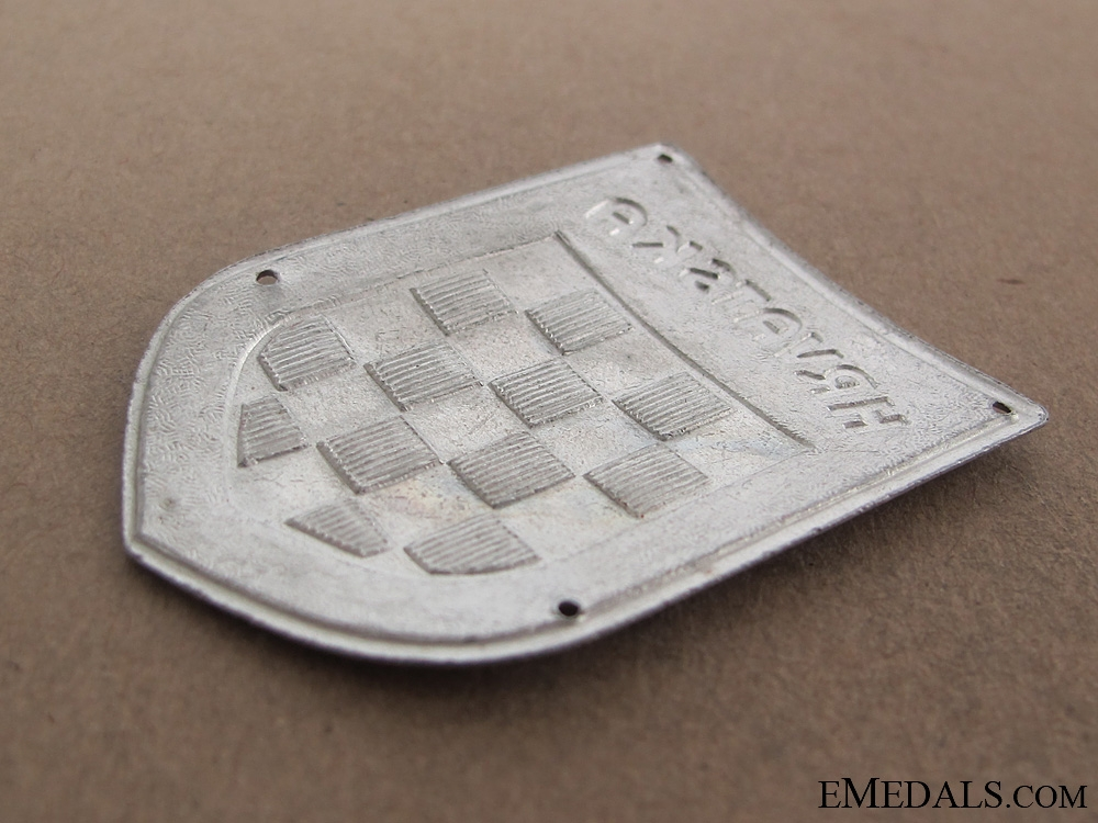 Legion Croata Autotransportabile Sleeve Badge WWII