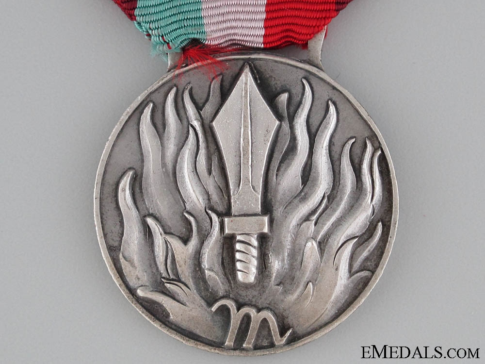 Italian National Firefighters Merit Medal