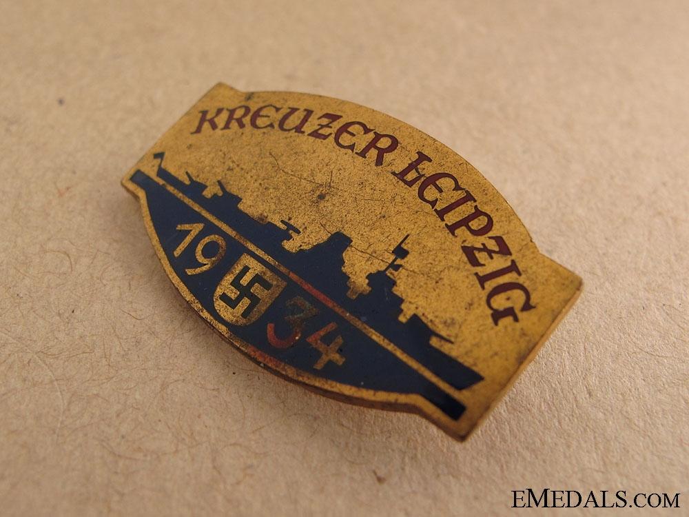 """Kreuzer Leipzig"" Pin"
