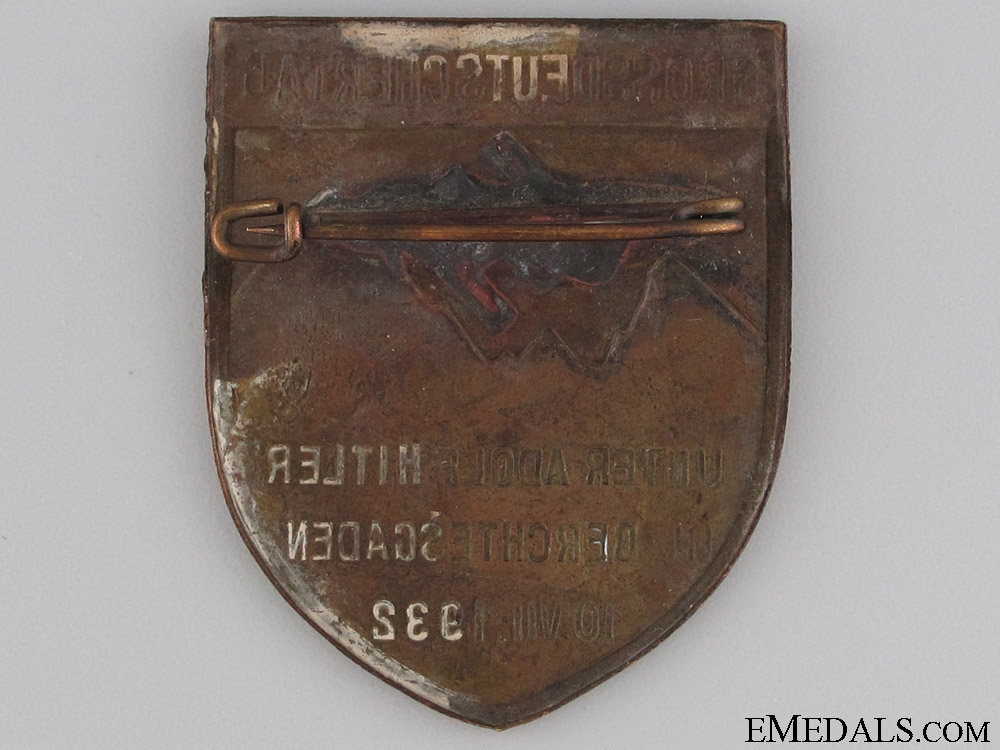 1932 Berchtesgaden Commemorative Badge