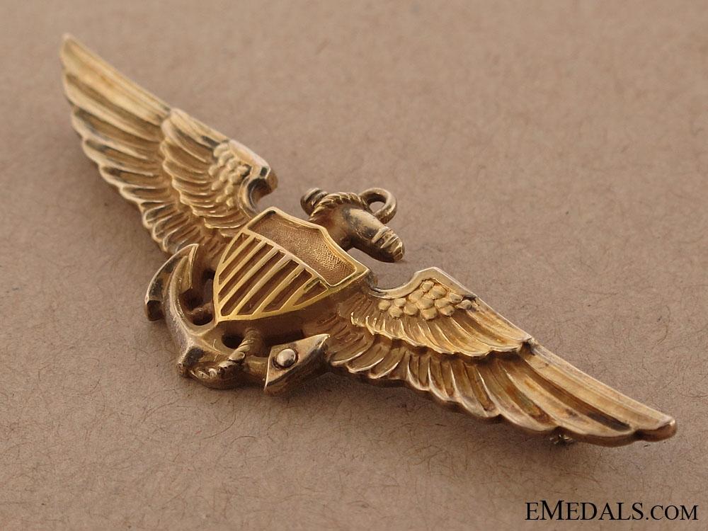 WWII Naval Aviator Badge