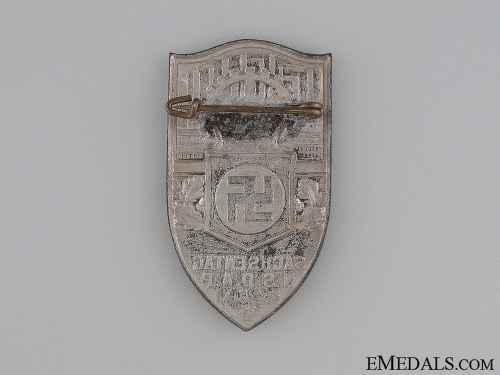 1931 NSDAP Sachsentag Commemorative Tinnie