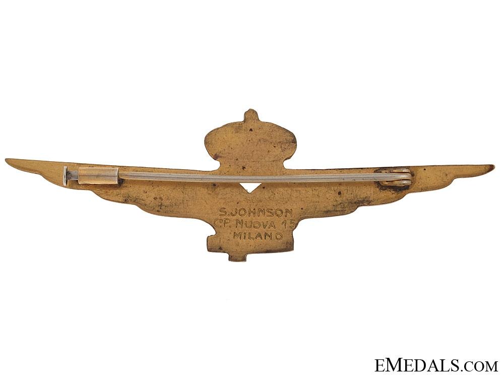 Second War Italian Pilot Wings