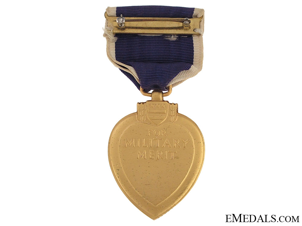WWI Purple Heart - Numbered